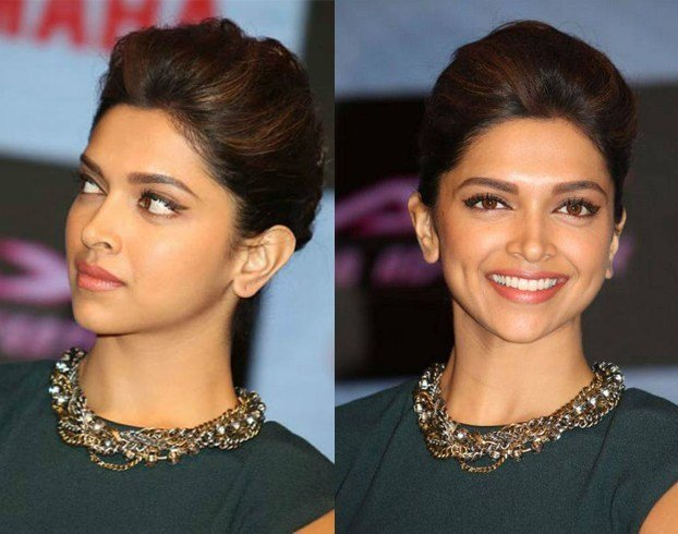 Deepika Padukone's Hairstyles on Bun