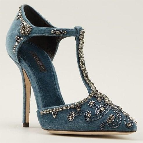 D & G Jewel shoes