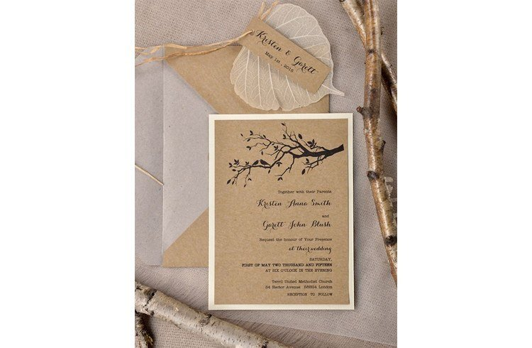 Eco-friendly Invites for wedding