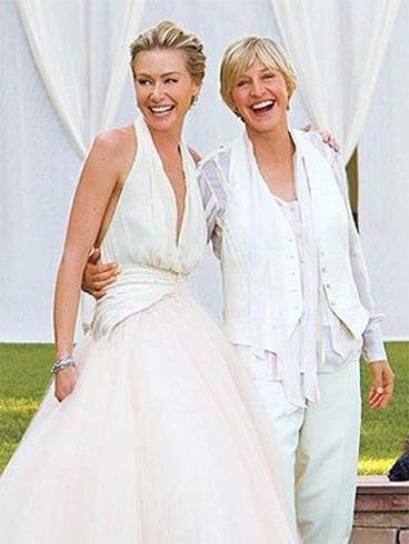 Ellen De Generes Wedding Dress