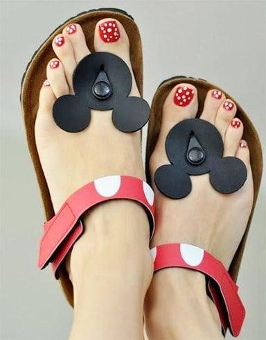 Fantasy fashion sandals