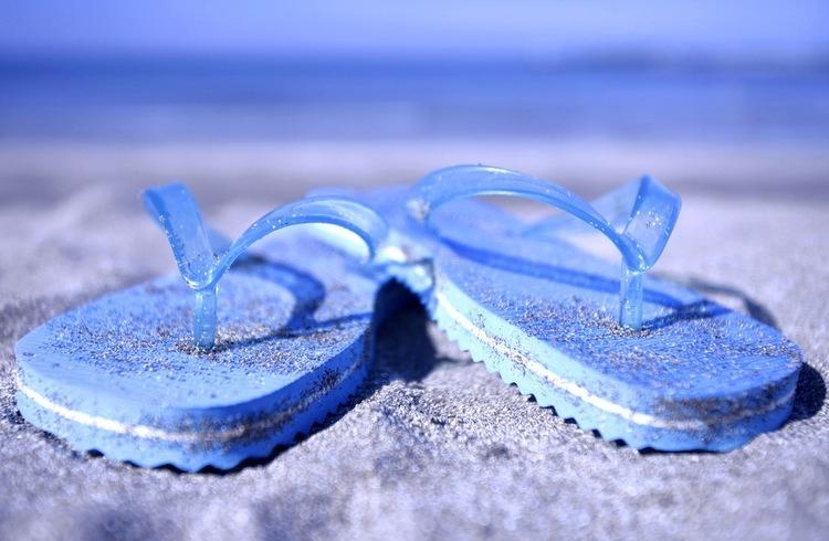 Flip flops fashion disaster