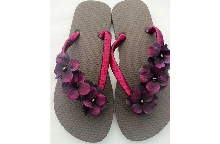 Flip flops for foot