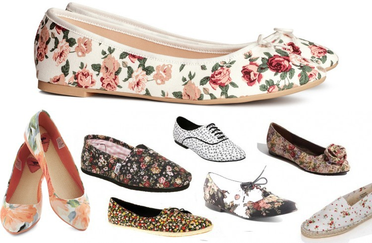 Floral Shoes Trends