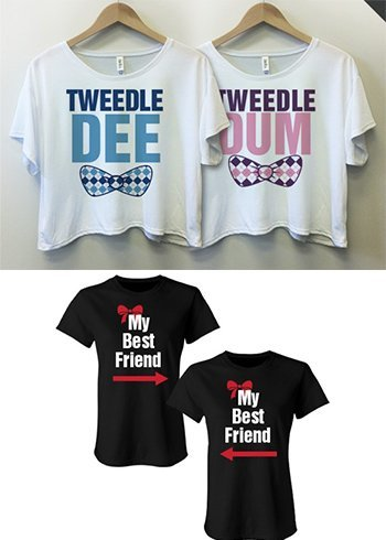 Friendships day t-shirts