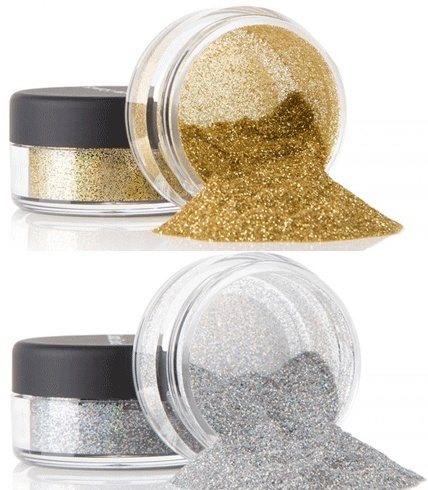 Glitter powder for eyeshadow