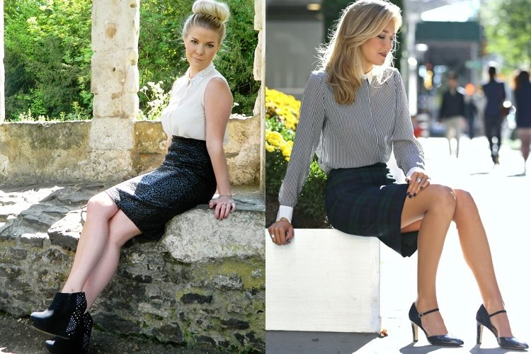 Hot Pencil Skirt Trend