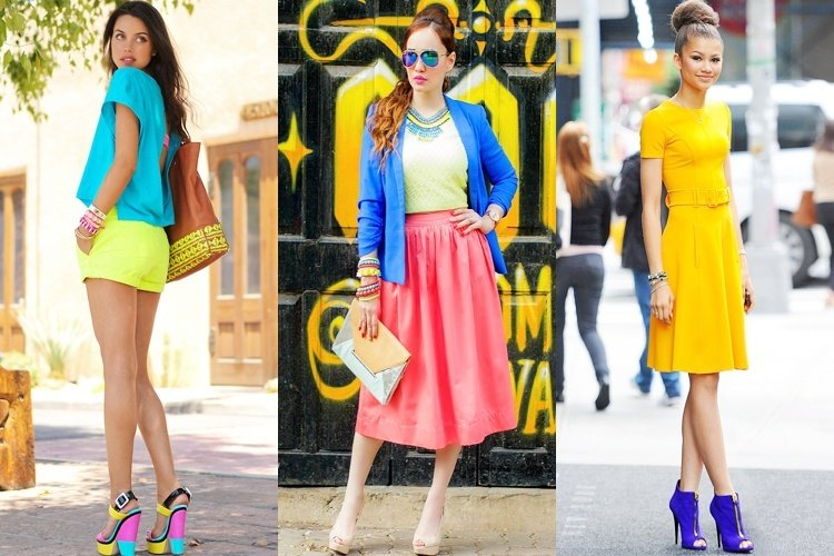 Bold Colours - Fashion Tips