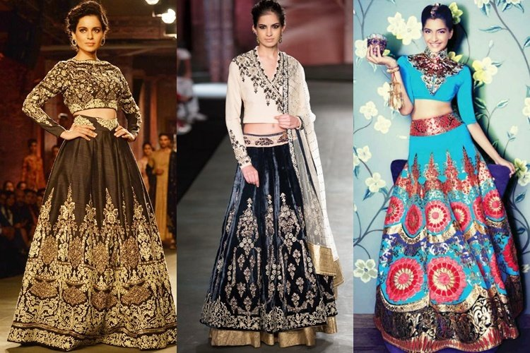 How To Wear Crop Tops As Blouses For Wedding Functions