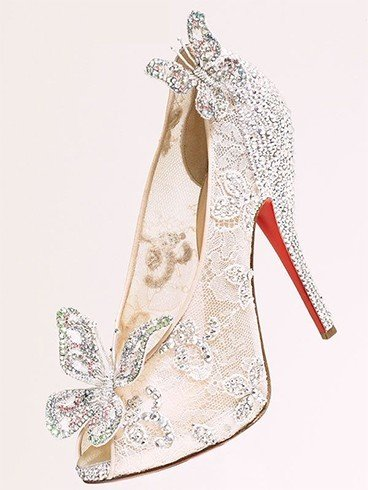 Jewel shoes for bridesmaid