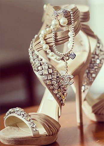 Jimmies jewelled shoes