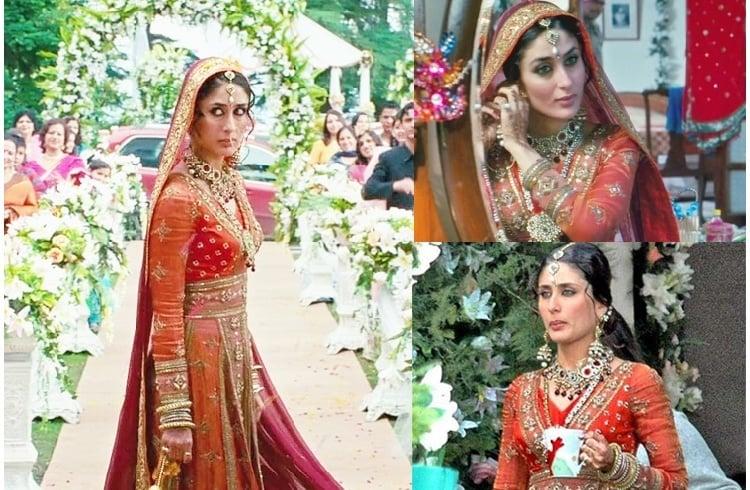 Pics For Gt Kareena Kapoor Wedding Outfit Royal And Traditional