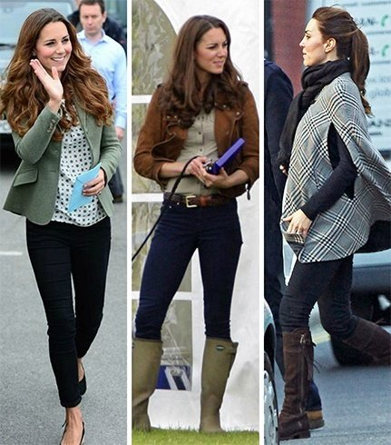 Kate Middleton in jeans