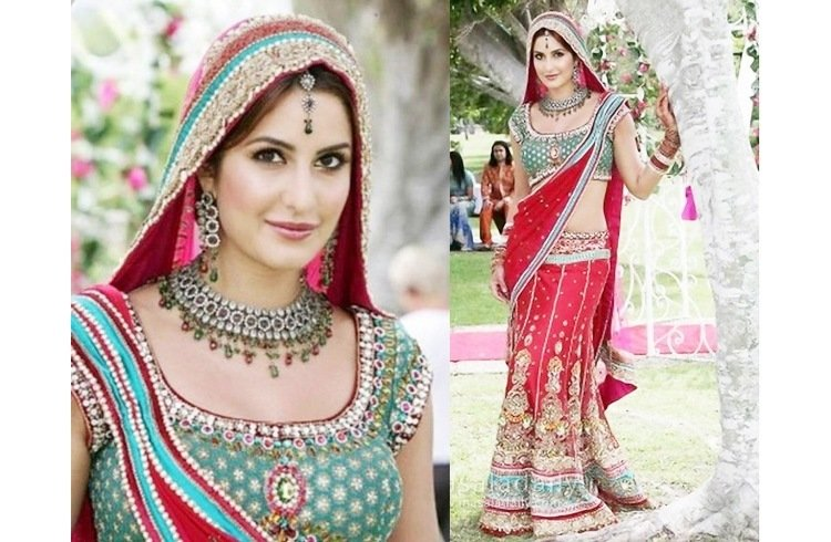 Katrina Kaif in bridal dress