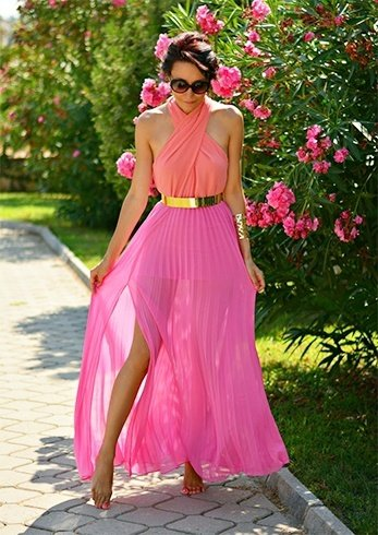 Maxi Dress for a Garden Party