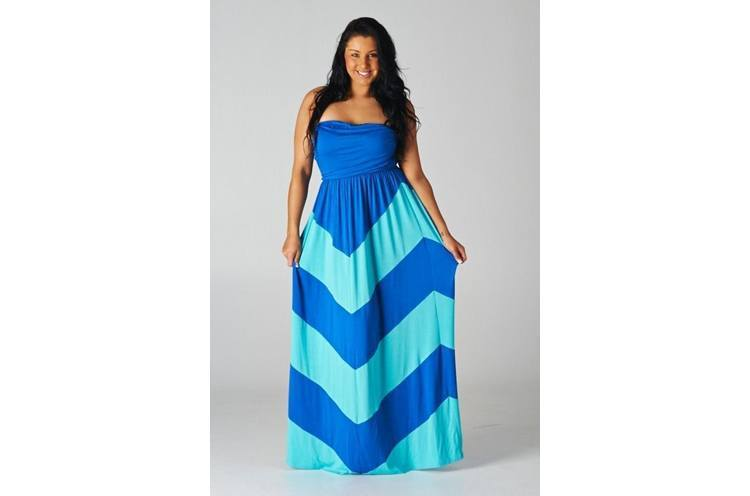 maxi dresses for curvy women