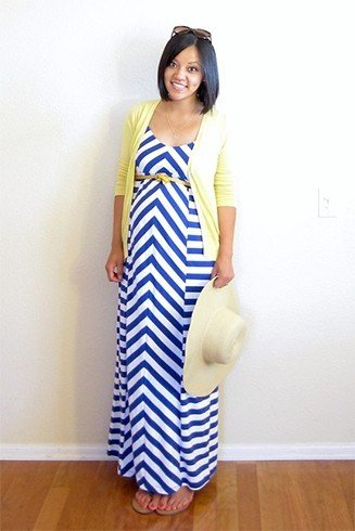 Maxi dresses for pregnant women