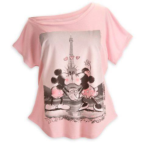 Minnie mouse and mickey tee