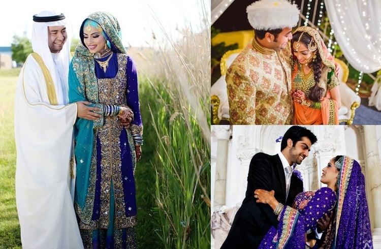 Muslim Bride and Shohar