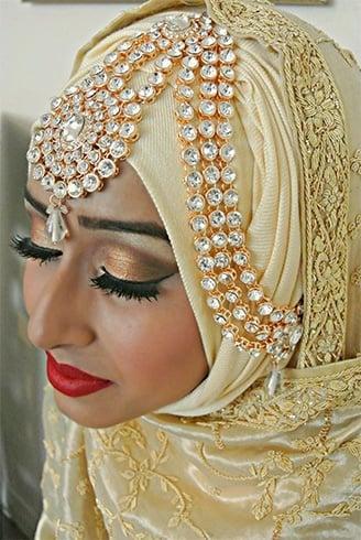 Muslim bride Jhoomar