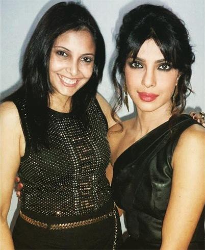 Prache Khade and Priyanka Chopra
