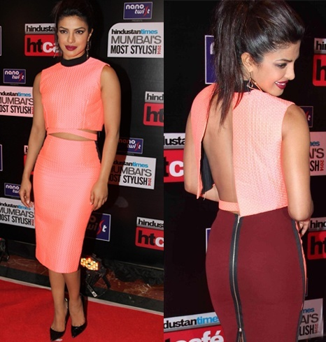 Priyanka at most stylish awards
