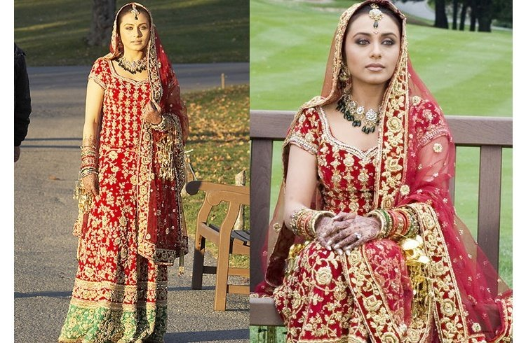 Rani Mukherji bridal look