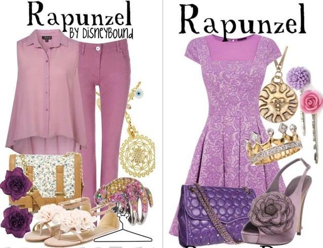 Rapunzel outfits