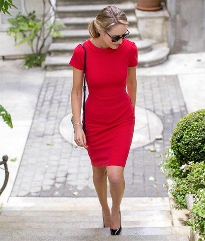 Sheath dress for office