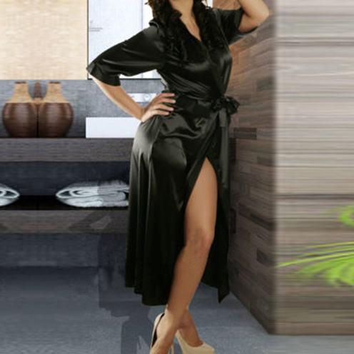 silk kimono styled bathrobes