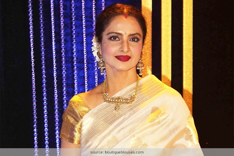 Smashing Looks Of Rekha