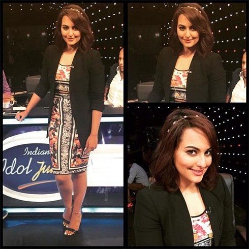 Sonakshi Sinha in Clover Canyon