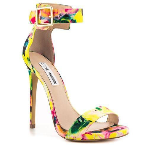 Steve Madden floral stilettos