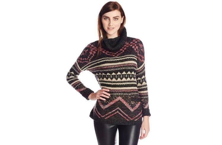 stylish graphic pullover