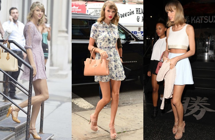 Taylor Swift New York Street Style