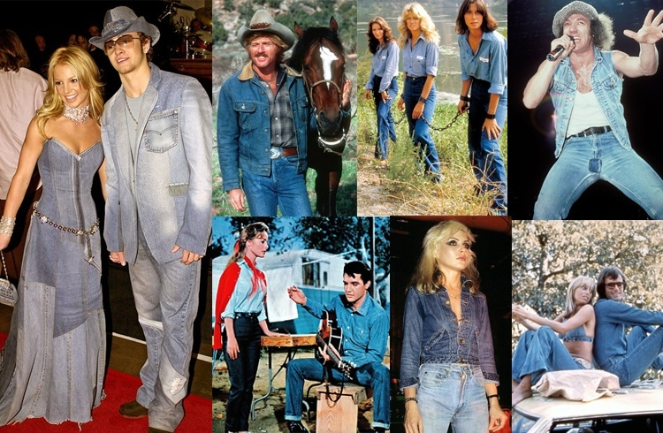 Trend of double denim