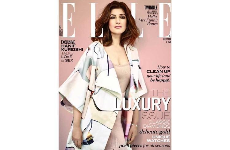 Twinkle Khanna july 2015 magazine