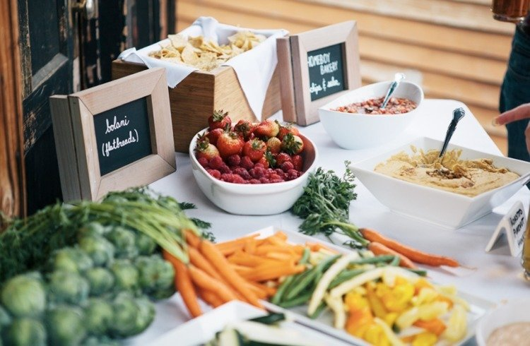 Vegetarian at Eco-friendly wedding