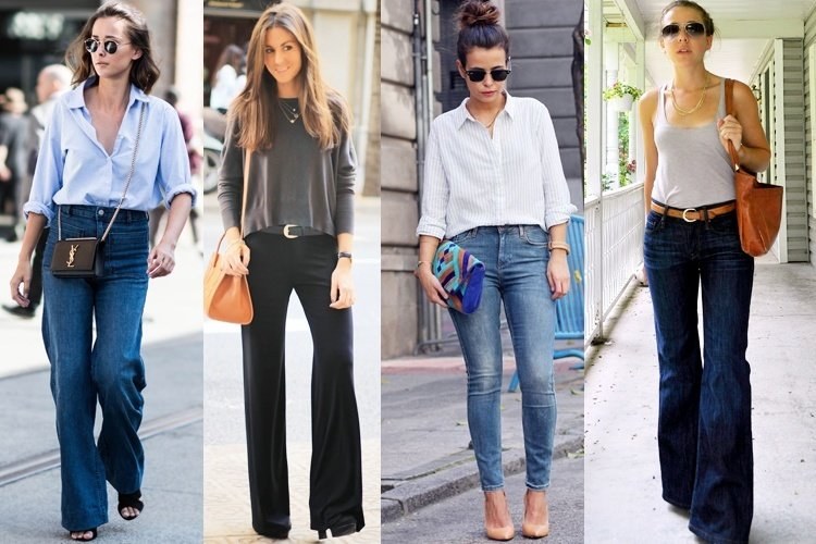 How to Wear High Waist Jeans