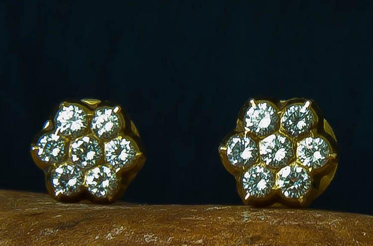 womens Trousseau Solitaire earrings