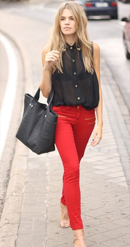 womens coco red clothing