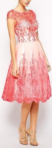 womens loral sheet embossed dress
