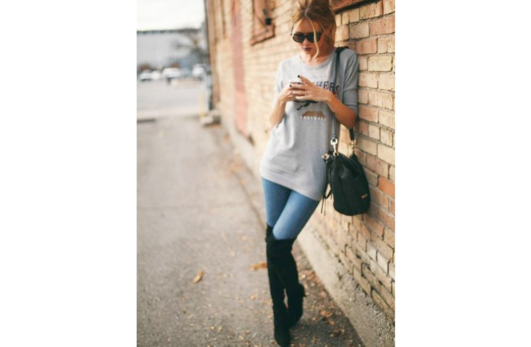 Womens over the knee boots