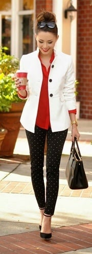 womens red and black styles