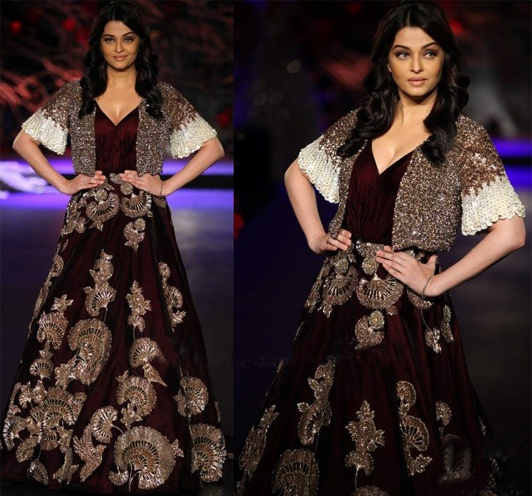 Aishwarya Indian Couture Week 2015