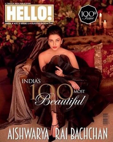 Aishwarya Rai Bachchan Hello India abu jani