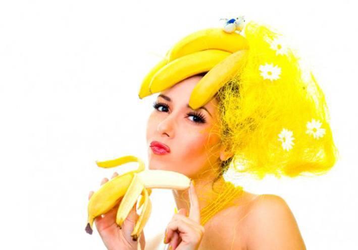 Banana Masks for curly hair
