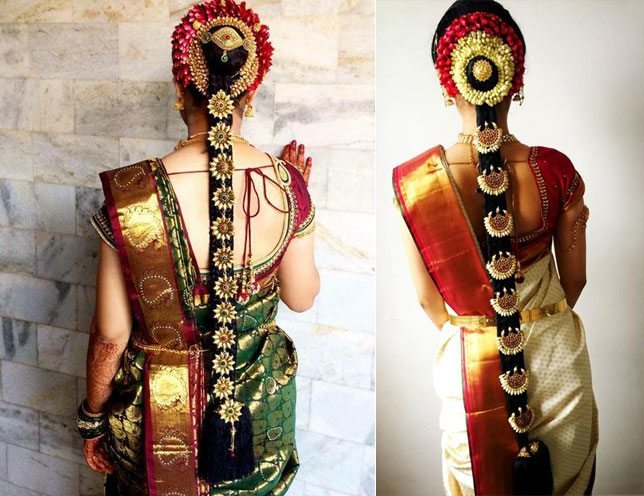 Superb 16 Indian Wedding Hairstyles For Picture Perfect Brides Hairstyles For Men Maxibearus