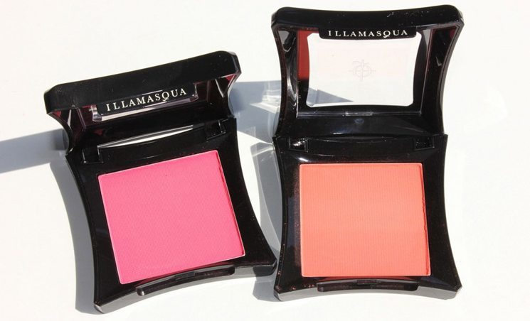 Blushes for dark skin