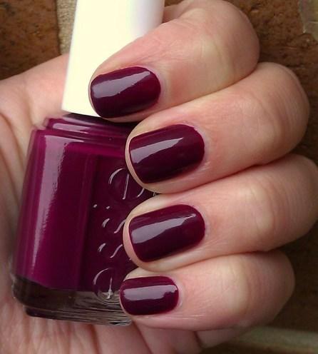 Dark Berry Nails